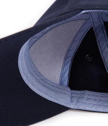 Kinder-Kappe Unisex blau Smoking