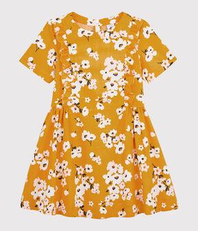 Kurzärmeliges Kinderkleid für Mädchen BOUDOR/MULTICO
