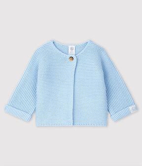 Baby-Cardigan aus 100% Baumwollstrick. TOUDOU