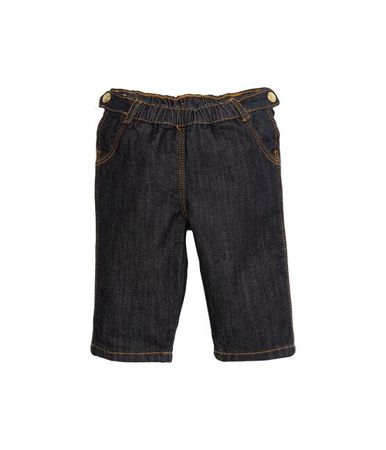 Baby-Hose für Mädchen aus Denim blau Jean