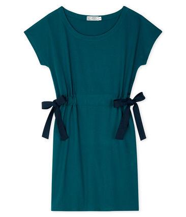 Kurzärmeliges kleid damen grün Pinede