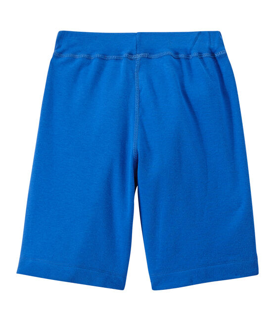 Jungen-Shorts blau Perse