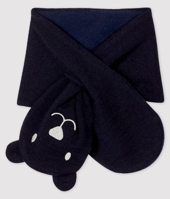 Baby-Schal mit Mikrofleecefutter SMOKING