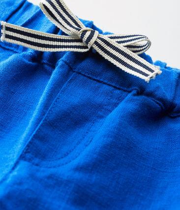 Baby-short aus leinen jungen blau Riyadh