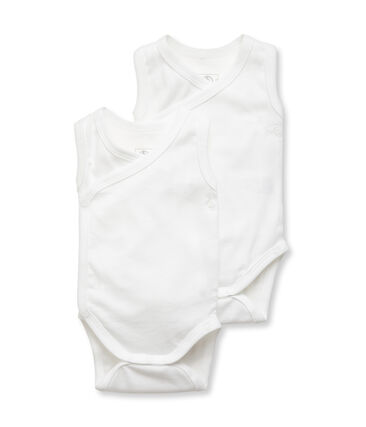 Duo ärmellose Neugeborenen-Baby-Bodys Unisex