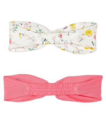 Set aus zwei Haarbändern für kleine Mädchen lot .