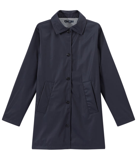 Damen-Regenjacke im City-Look blau Smoking