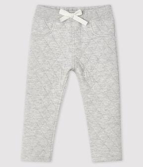 Baby-Hose aus Doppeljersey für Jungen grau Beluga