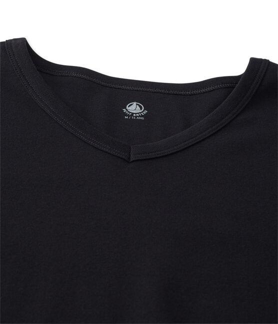Emblematisches kurzärmliges T-Shirt für Herren schwarz Noir