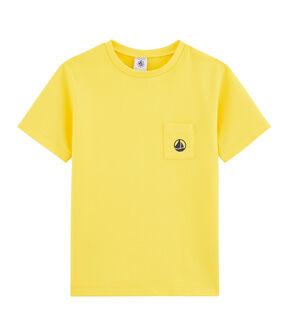Kinder-T-Shirt für Jungen gelb Shine