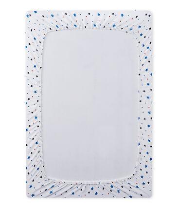 Baby-Jungen-Spannbetttuch mit Sternen-Print