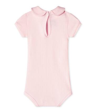 Baby-Mädchen-Body mit Kragen