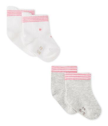 Unisex-Baby-Socken im 2er-Set