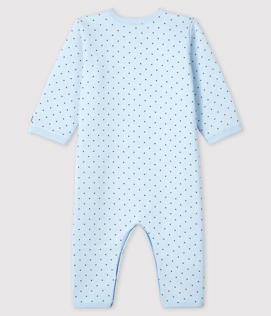 Baby-Strampler ohne Füße aus wattiertem Rippstrick für Jungen FRAICHEUR/MOZAIK