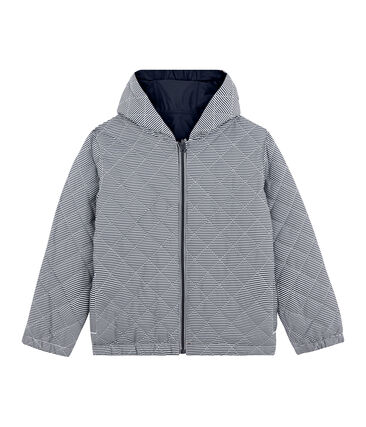 Wendbare Kinder-Windjacke unisex blau Smoking