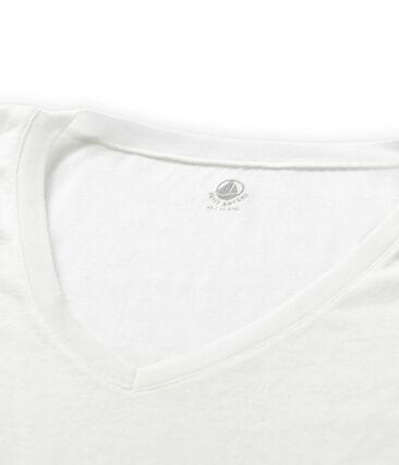 Kurzärmliges T-Shirt mit V-Ausschnitt für Damen