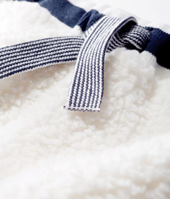 Unisex-Babyhose in Sherpa weiss Marshmallow