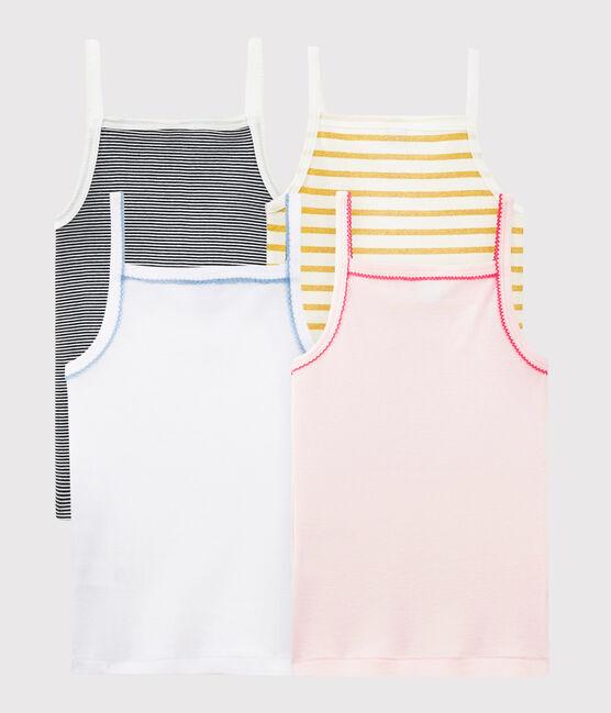 Überraschungstüte mit 4 Unterhemden für Mädchen lot .
