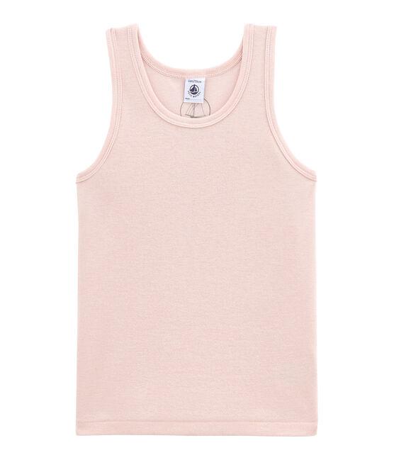 Mädchen Unterhemd aus Wolle/Baumwolle rosa Joli