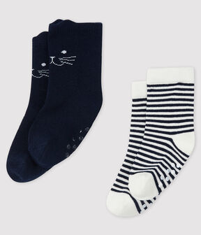 Set mit 2 Paar Baby-Socken lot .