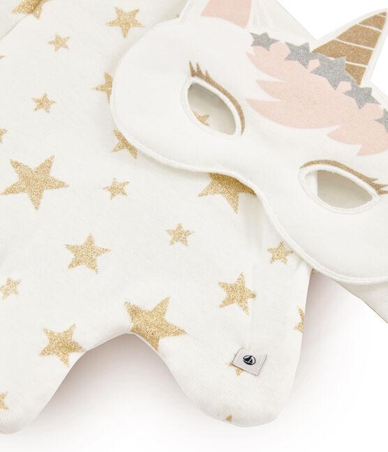 Accessoires für kleine Mädchen weiss Marshmallow / gelb Or