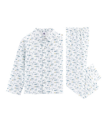 Leinen-Pyjama für kleine Jungen