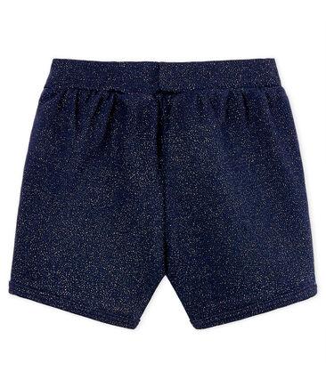 Glänzende baby-shorts mädchen