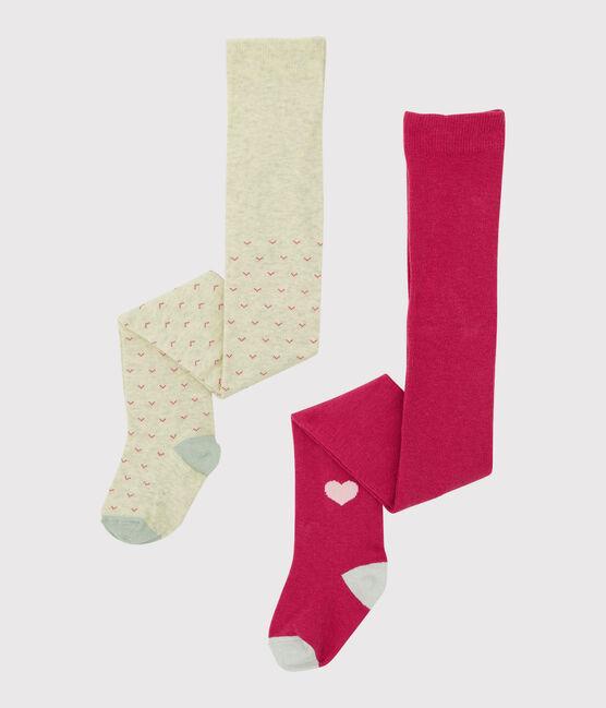Set mit Kinderstrumpfhosen für Mädchen lot .