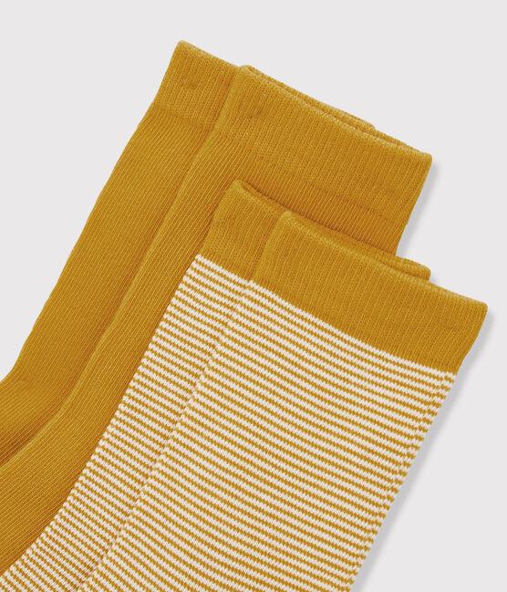 Socken-Set für Jungen gelb Boudor