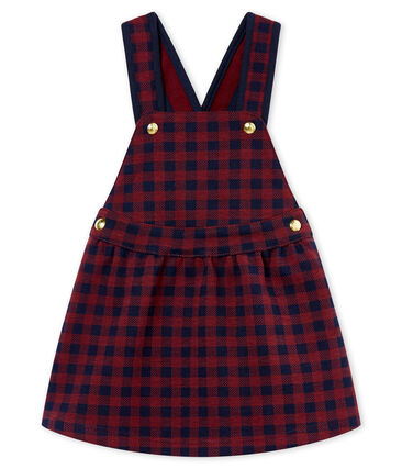 Baby MädchenKleid mit Vichy-Karomuster
