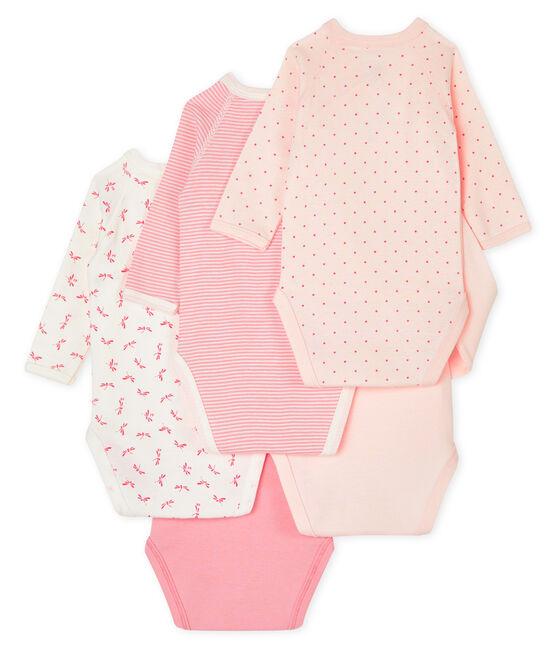 Set mit 5 langärmligen Bodys für Neugeborene lot .