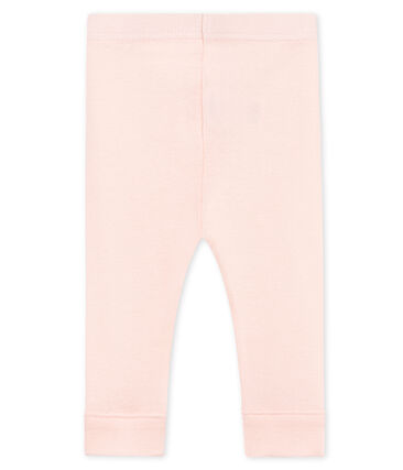 Einfarbige baby-legging mädchen