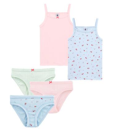 Set Unterwäsche für kleine Mädchen