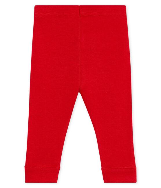 Einfarbige baby-legging mädchen rot Terkuit