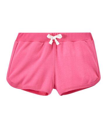 Einfarbige Mädchen-Shorts