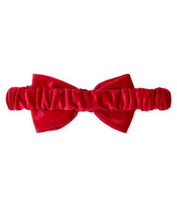 Haarband für Mädchen rot Terkuit