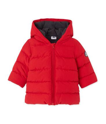 Baby-Jungen-Winterjacke rot Froufrou