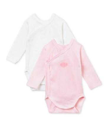 Duo Baby-Bodys für neugeborene Mädchen