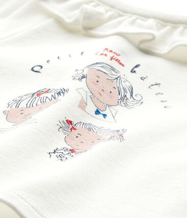 Baby-Mädchen-Kurzarmshirt