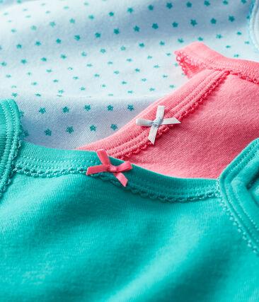 Trio Baby-Trägerbodys für Mädchen lot .