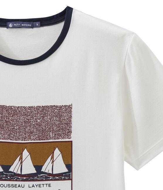 Unisex-kurzarmshirt weiss Marshmallow