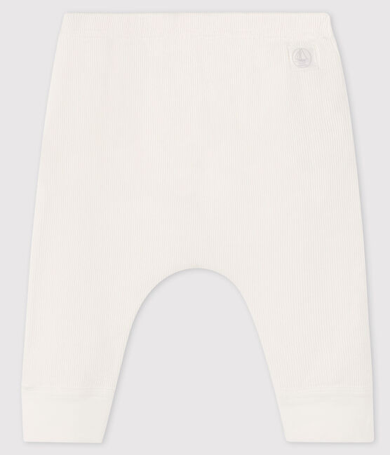 Baby-Leggings weiss Marshmallow