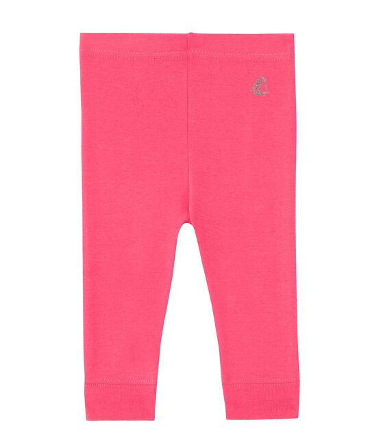 Baby-Mädchen-Leggings rosa Peony