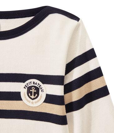 Jungen-Streifenshirt aus schwerem Jersey
