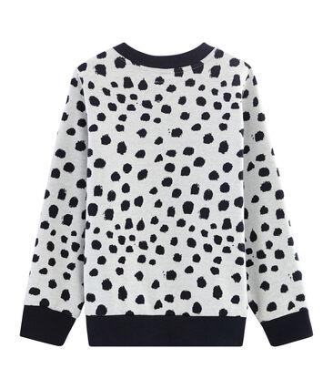 Sweater Jean Jullien MARSHMALLOW/DOTTIES