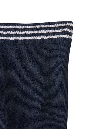 Babystrumpfhose für Mädchen blau Abysse