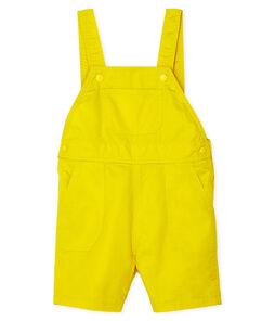 Baby-Kurzlatzhose für Jungen. gelb Gengibre