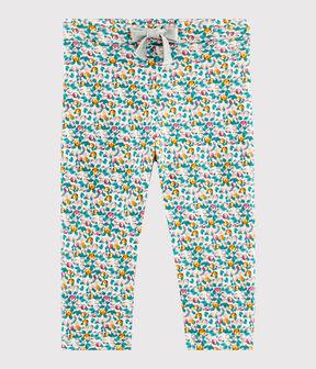 Baby-Hose für Mädchen weiss Marshmallow / weiss Multico