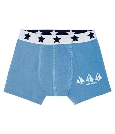 Boxershorts für kleine Jungen blau Alaska