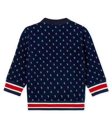 Gemustertes baby-Sweatshirt aus molton jungen
